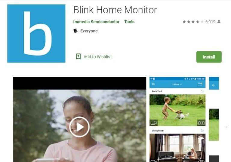 Blink App For PC- Install Blink Home Monitor on Windows