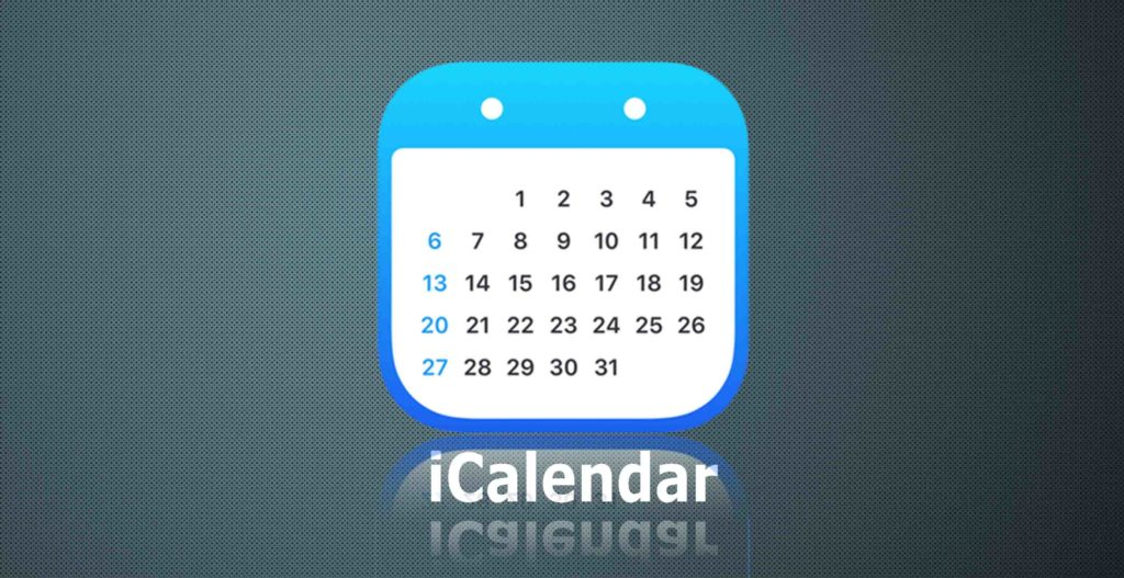 Download iCalendar app for PC and MAC