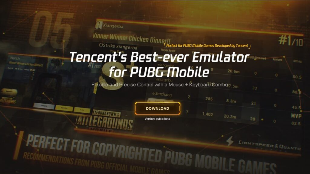 Download Tencent Emulator For PC and MAC