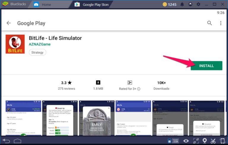 BitLife Life Simulator for PC - Download On Windows 7, 8, 10